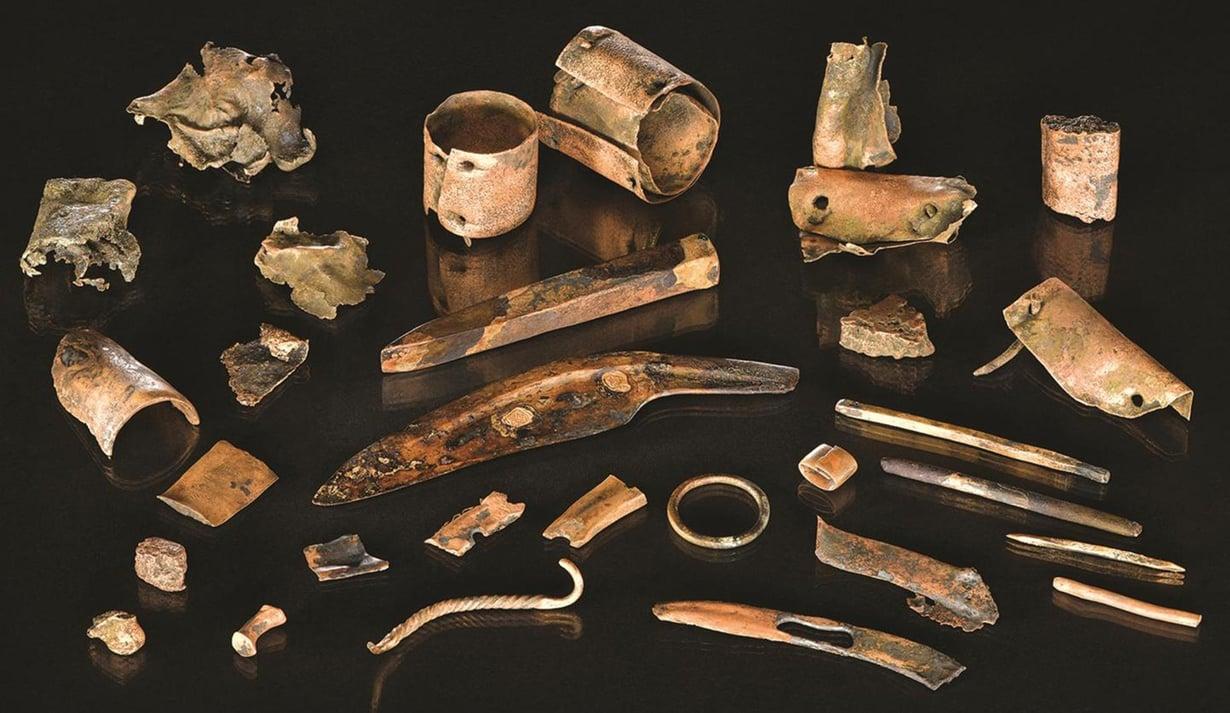 Tollensejoen pohjasta on löytynyt pronssiesineitä ja työkaluja. Alueella on myös runsaasti ihmisten jäänteitä. Kuva: Volker Minkus