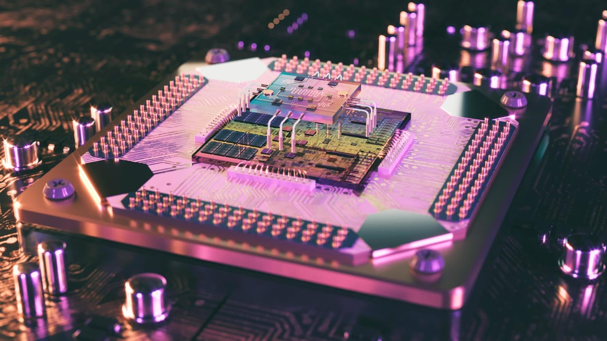 Toimiva kvanttiprosessori nostaisi huikeasti tietokoneen laskentatehoa. Kuva: Shutterstock