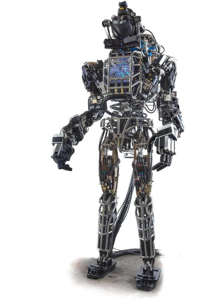 """Atlas-robotin edellinen versio on vuodelta 2013. Kuva: <span class=""""photographer"""">Darpa</span>"""