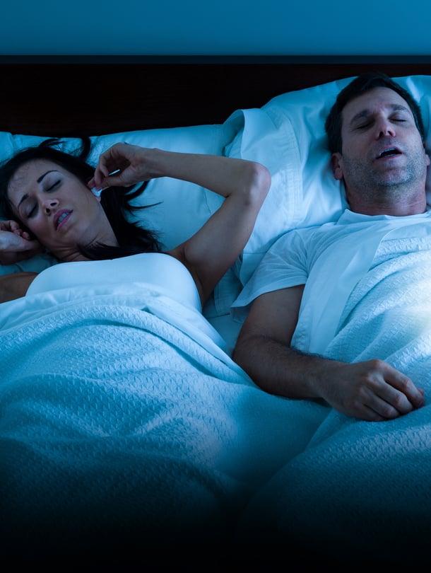 """Katkonainen kuorsaus kertoo uniapneasta. Kuva: <span class=""""photographer"""">Getty Images</span>"""