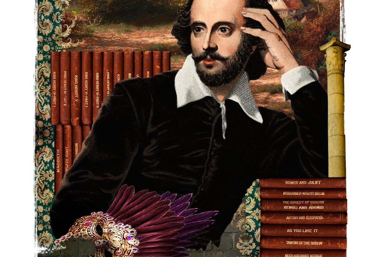 Vuosisatainen pohdinta on päätynyt käsitykseen, että William Shakespeare oli todellinen henkilö: näyttelijä, josta kehittyi näytelmäkirjailija – kiitos latinakoulun, joka tarjosi rautaisannoksen antiikin kulttuuri- ja näytelmähistoriaa. Kuva: Jussi Jääskeläinen