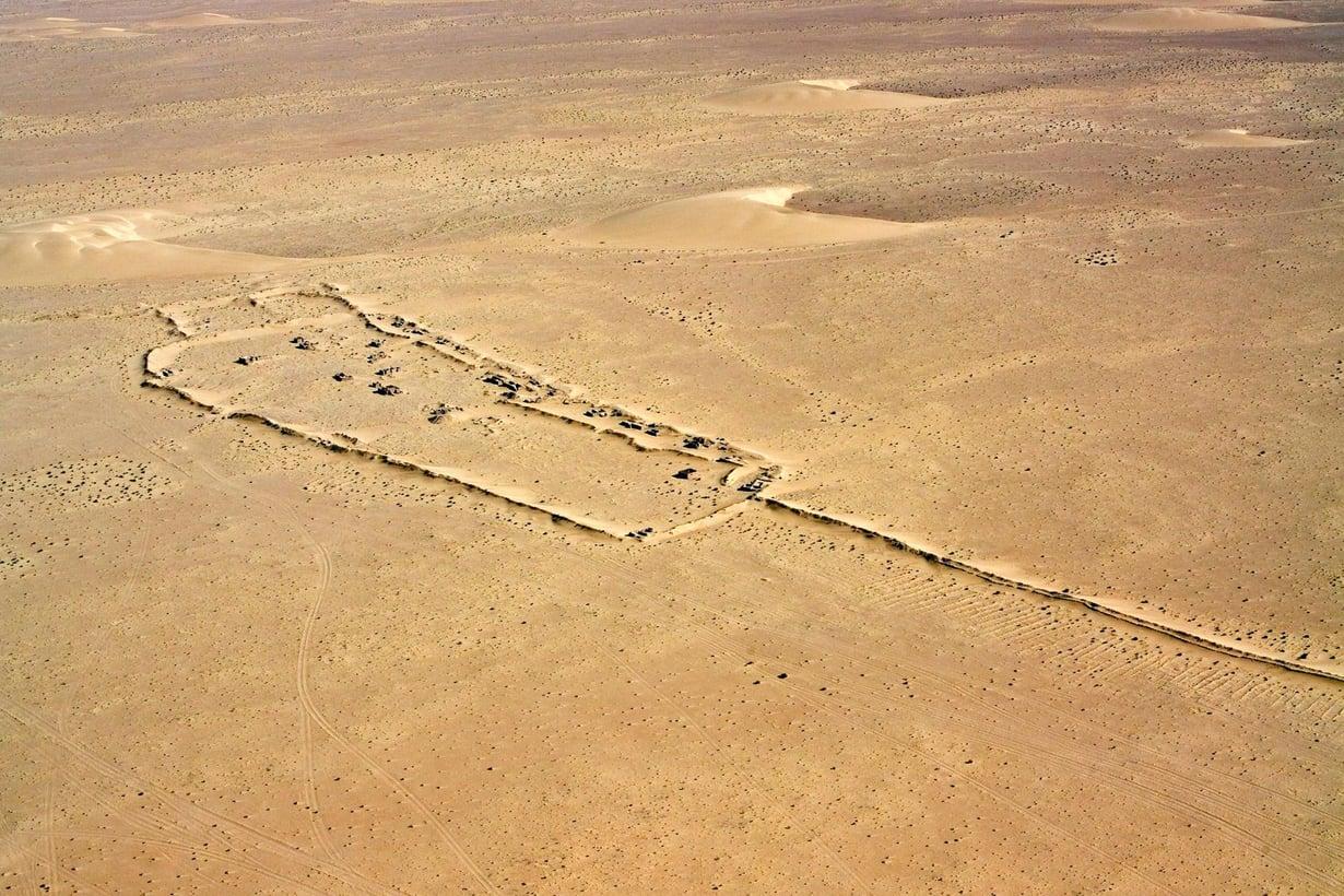 Marokko teki Saharaan hiekkamuurin.