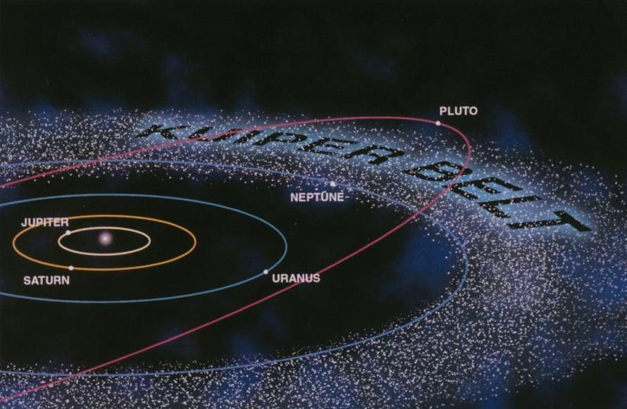 """Uusia aurinkokunnan kohteita löytyy koko ajan esimerkiksi Kuiperin vyöhykkeeltä ja vielä kauempaa, Oortin pilvestä. Mutta löytyykö planeettaa numero 9? Kuva: <span class=""""photographer"""">Nasa</span>"""