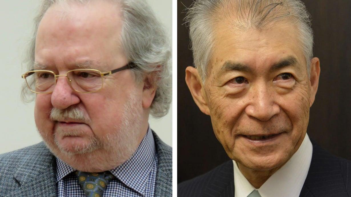 James P. Allison (vas.) ja Tasuku Honjo keksivät tehostaa elimistön omaa puolustusta. Kuva: Wikimedia Commons