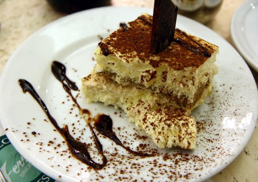 """Tiramisu on italialainen jälkiruoka. Kuva: <span class=""""photographer"""">Wikimedia Commons</span>"""