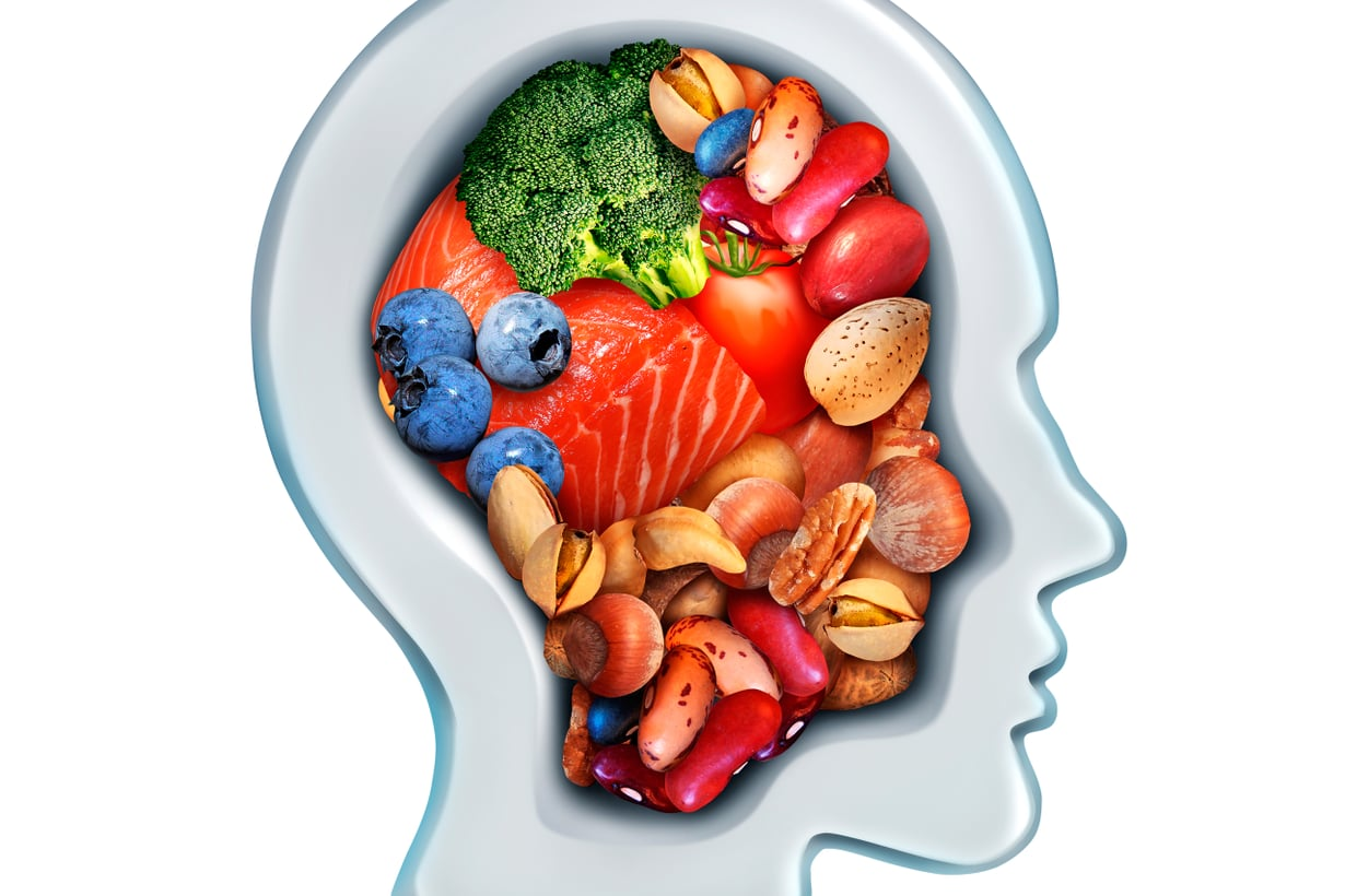 Aivot tykkäävät vihanneksista, marjoista ja hyvistä rasvoista. Kuva: Getty Images