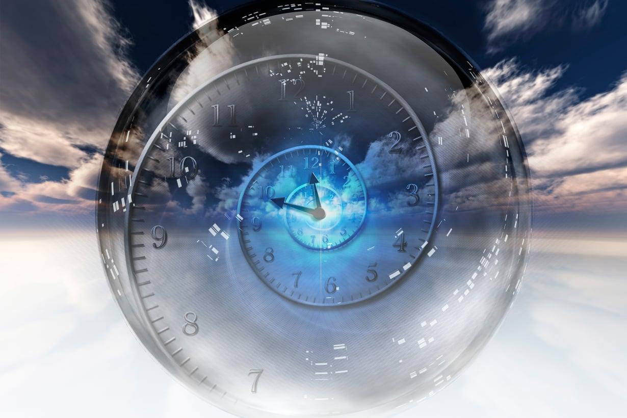 Vankin nykyteoriamme vangitsee meidät ikuiseen nykyhetkeen, koska sen mukaan aika vain on. Kuva: Getty Images