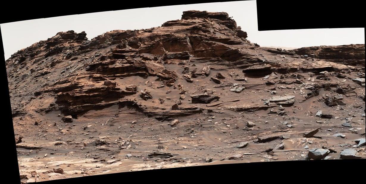 Curiosity otti syyskuussa uutta kuvaa Marsin maisemista. Kuva: NASA/JPL-Caltech/MSSS