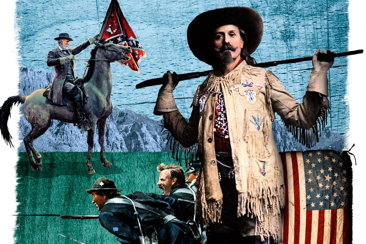 Armeija tarjosi tähtitiedustelijalle upseerinvirkaa, mutta Buffalo Bill arvosti vapauttaan. Kuva: Jussi Jääskeläinen