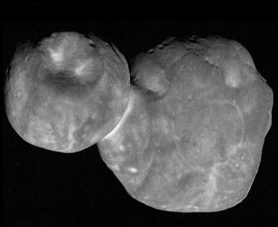 """Ultima Thule on 6,4 miljardin kilometrin päässä Maasta. Kuva: <span class=""""photographer"""">Nasa</span>"""
