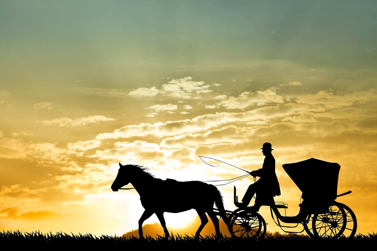 Tällä vauhdilla ei taida vinkua. Kuva Shutterstock