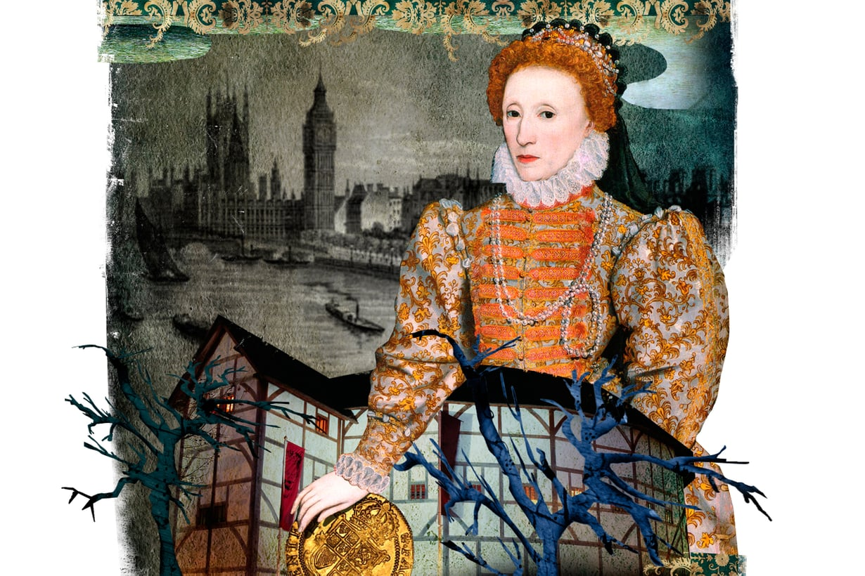 Elisabet I:n Englanti eli kulttuurin kulta-aikaa. Teatteri sai runsaan osansa taiteiden suosiosta. Kuva: Jussi Jääskeläinen
