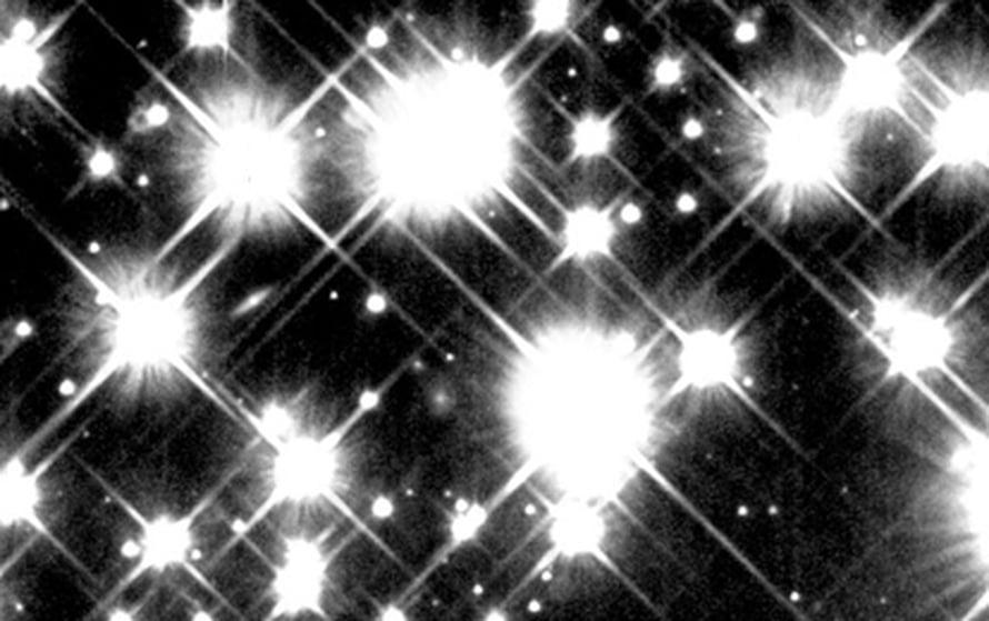 """Pallomaisen tähtijouon M4 tähtiä. Kuva: <span class=""""photographer"""">NASA and H. Richer (University of British Columbia)</span>"""